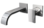 Graff G-1835-LM36W-PC - Sade Wall-Mounted Lavatory Faucet, Polished Chrome